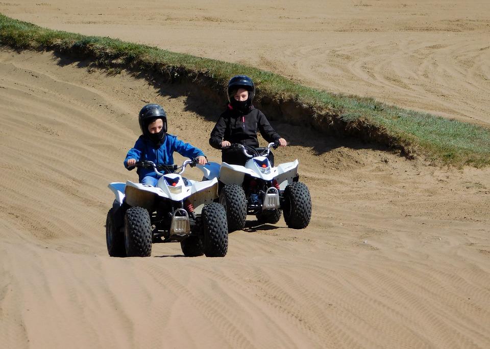 Découverte moto/quad - équitation